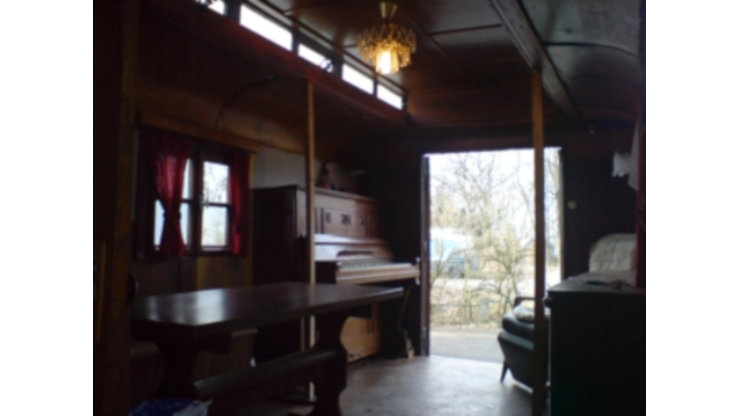 Hotelwagen Schlafwagen Mobiles Büro Catering Service